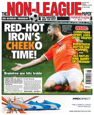 The Non-League Football Paper issue 15th November 2015