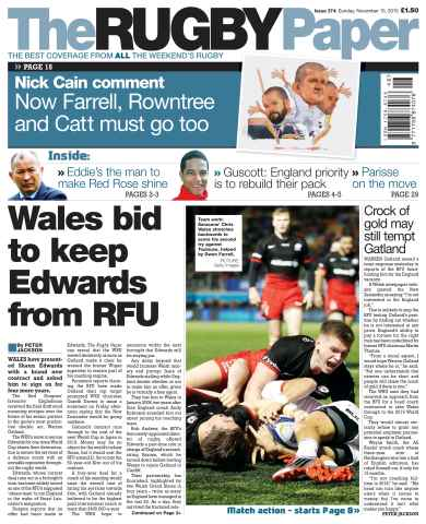 The Rugby Paper issue 15th November 2015