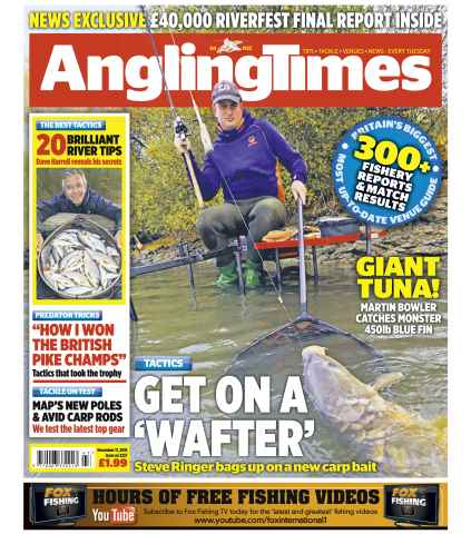 Angling Times issue 17th November 2015