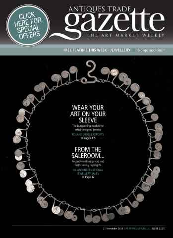 Antiques Trade Gazette issue JEWELLERY FEATURE