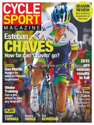 Cycle Sport issue January 2016