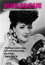Special Gypsy Rose Lee mini mag issue Special Gypsy Rose Lee mini mag