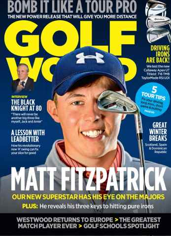 Golf World issue January 2016