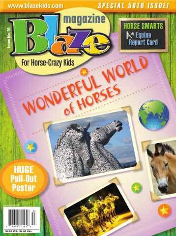 Blaze Magazine issue Issue No. 50 Fall 2015