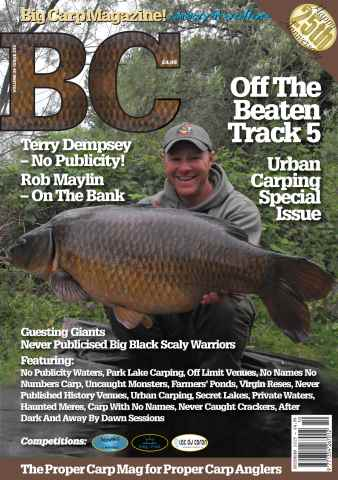 Big Carp Magazine issue Big Carp 233