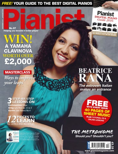 Pianist issue No 87 December 2015-January 2016