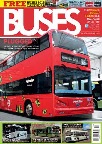 Buses Magazine issue December 2015