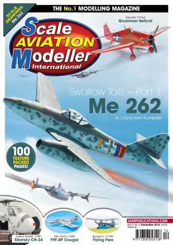 Scale Aviation Modeller Internat issue SAMI Vol 21 Iss 12 December 2015