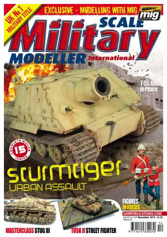 Scale Military Modeller Internat issue  SMMI Vol 45 Iss 537 December 2015