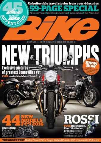Bike issue January 2016