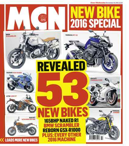 MCN issue 18th November 2015
