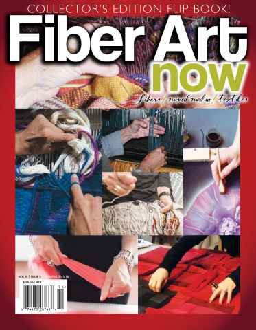 Fiber Art Now issue Winter 2015