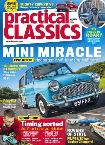 Practical Classics issue January 2016
