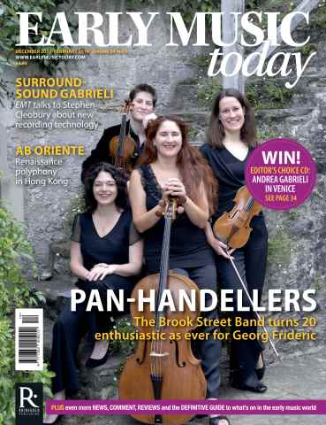 Early Music Today issue Dec - Feb 2015/16