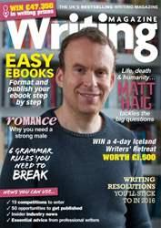 Writing Magazine issue January 2016