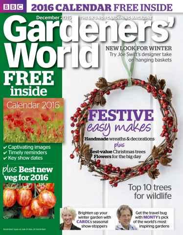 Gardeners' World issue December 2015