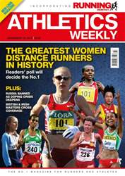 Athletics Weekly issue 19 November 2015