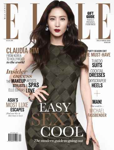 ELLE Malaysia issue The December Issue