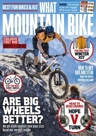 What Mountain Bike issue December 2015