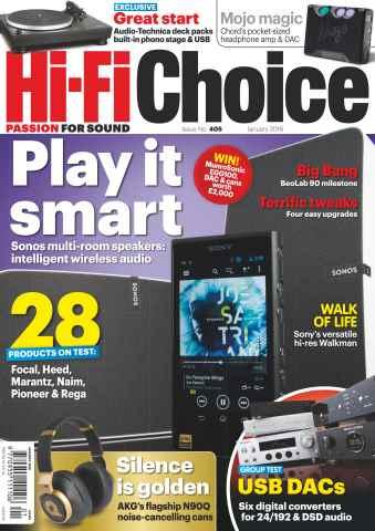 Hi-Fi Choice issue January 2016