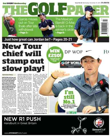The Golf Paper issue 18th November 2015