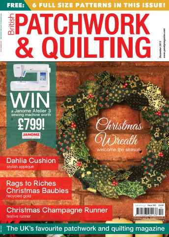 Patchwork and Quilting issue December 2015