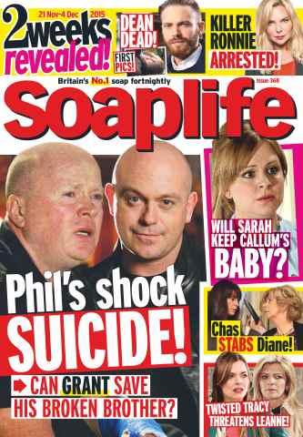 Soaplife issue 21st November 2015