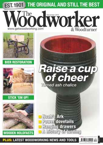 The Woodworker Magazine issue December 2015