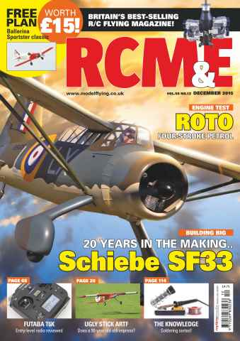 RCM&E issue December 2015