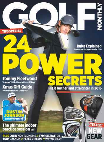 Golf Monthly issue January 2016