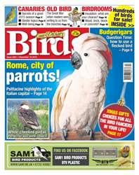 Cage & Aviary Birds issue No. 5881 Rome, City Of Parrots