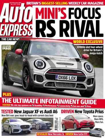Auto Express issue November 18. 2015
