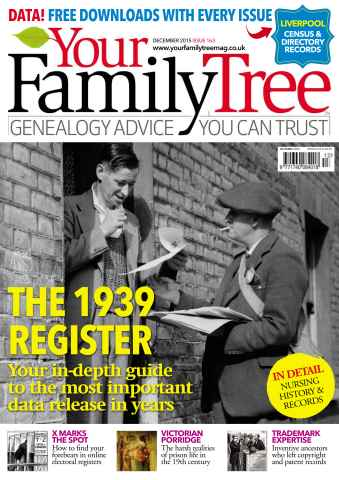 Your Family Tree issue December 2015