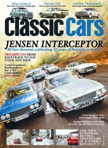 Classic Cars issue January 2016