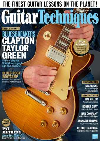 Guitar Techniques issue January 2016