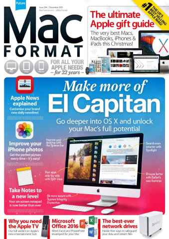 MacFormat issue December 2015