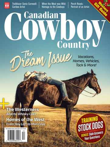 Canadian Cowboy Country issue Dec/Jan2015-2016