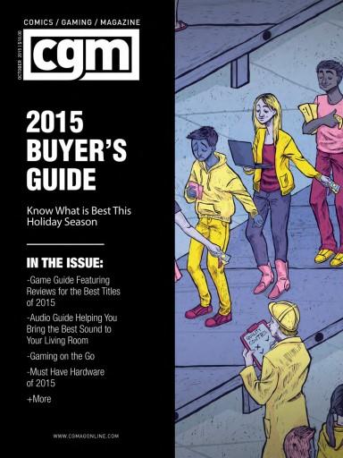 CGMagazine issue October 2015