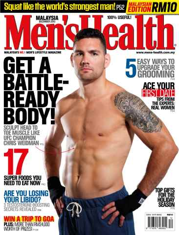 Men's Health Malaysia issue December 2015