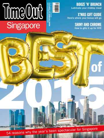 Time Out Singapore issue December 2015