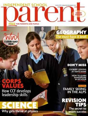 Independent School Parent issue Senior Autumn 2015