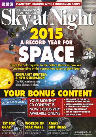 BBC Sky at Night Magazine issue December 2015