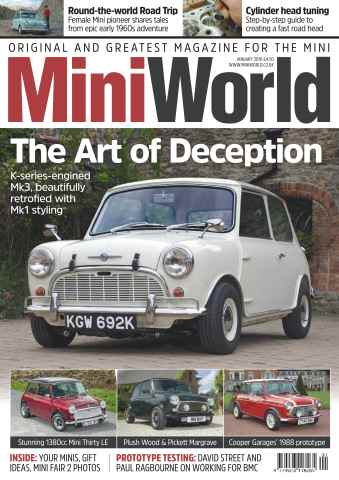 Mini World issue No. 285 The Art Of Deception