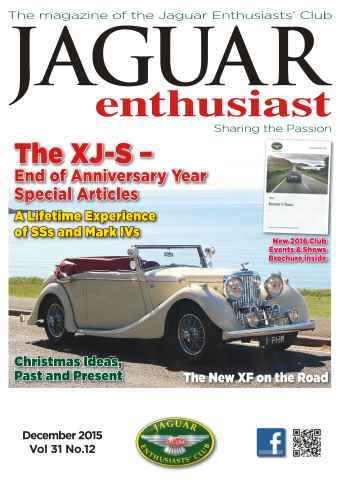 Jaguar Enthusiast issue Vol. 31 No. 12 The XJ-S