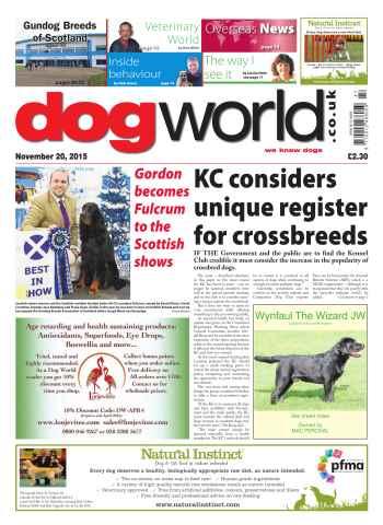Dog World issue 20 November 2015