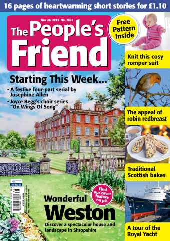 The People's Friend issue 28/11/2015