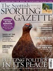 The Scottish Sporting Gazette Winter 2015/16 issue The Scottish Sporting Gazette Winter 2015/16