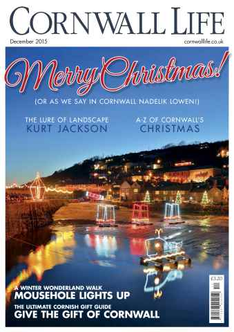 Cornwall Life issue December 2015