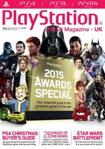 Playstation Official Magazine (UK Edition) issue Christmas 2015