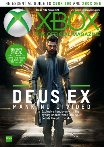 Official Xbox Magazine (UK Edition) issue Xmas 2015